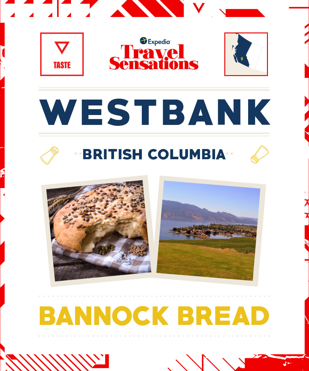The top flavours in Westerbank, British Columbia