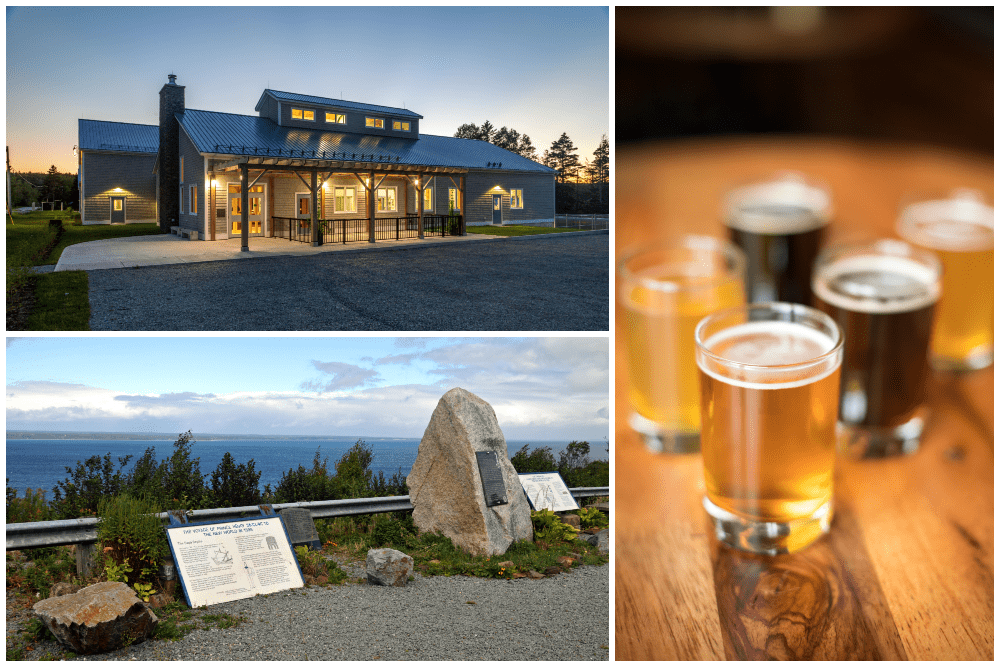 Brewery and scenery of Guysborough, one of the best beer towns of Canada