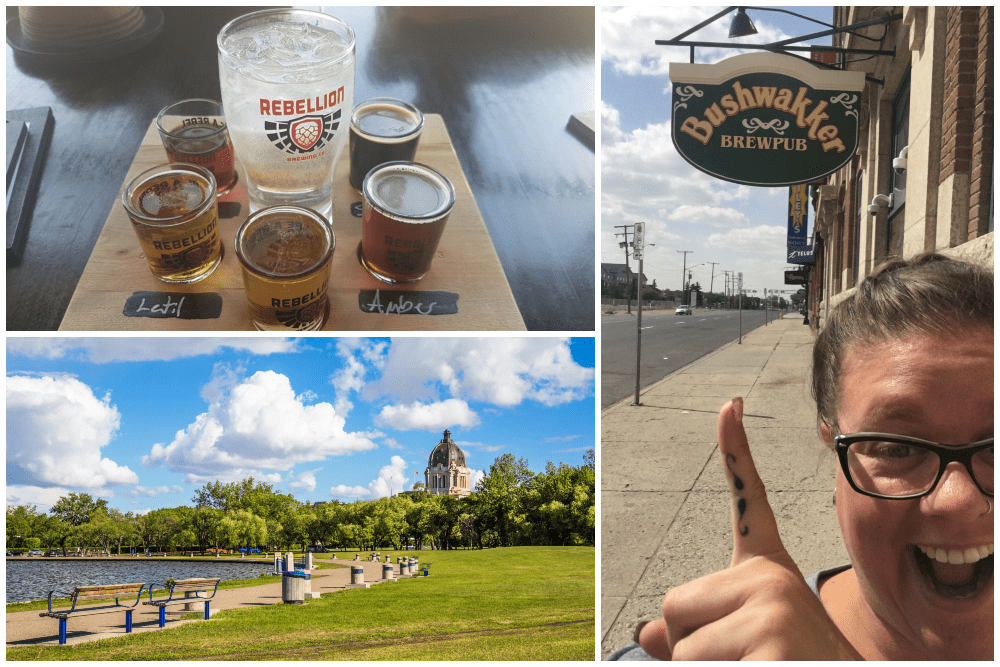 Regina, Saskatchewan, breweries and Central Park