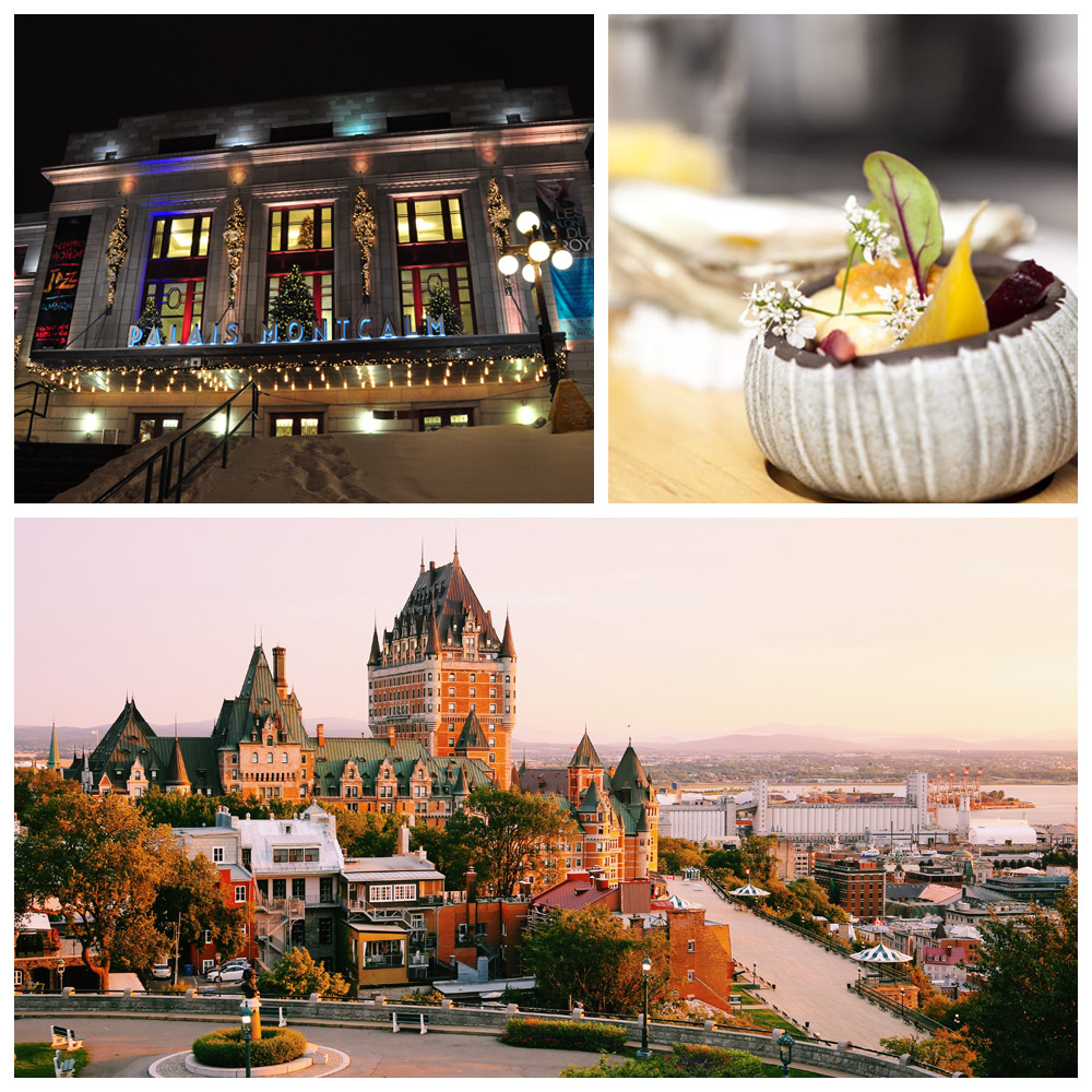 City views of Quebec City, Quebec--a top destination for Baby Boomers