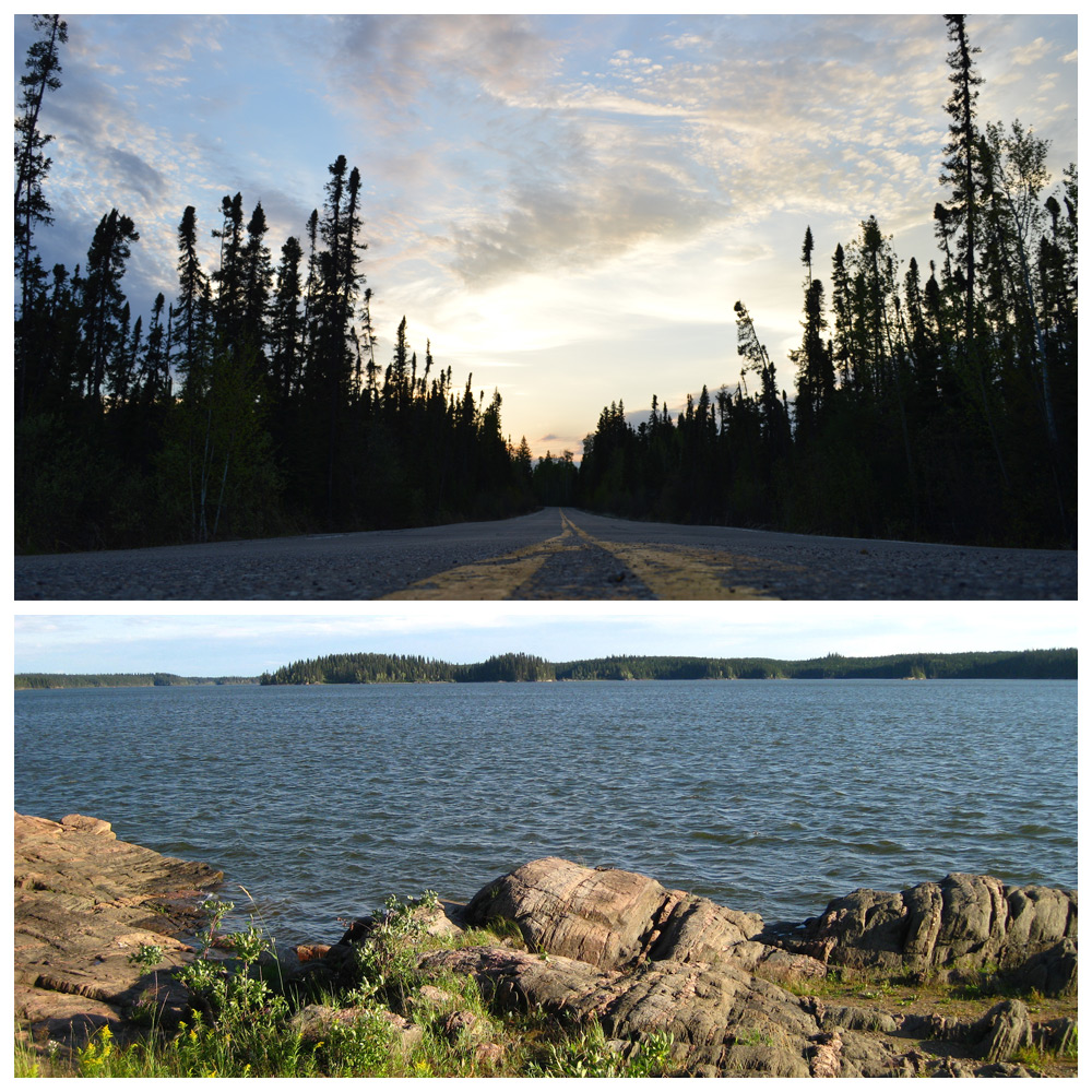Nature views of Thompson, Manitoba--a top destination for Baby Boomers