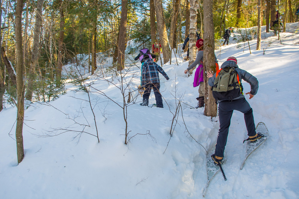 Winter in the Wild Festival in Algonquin Park, one of the best Canadian winter destinations