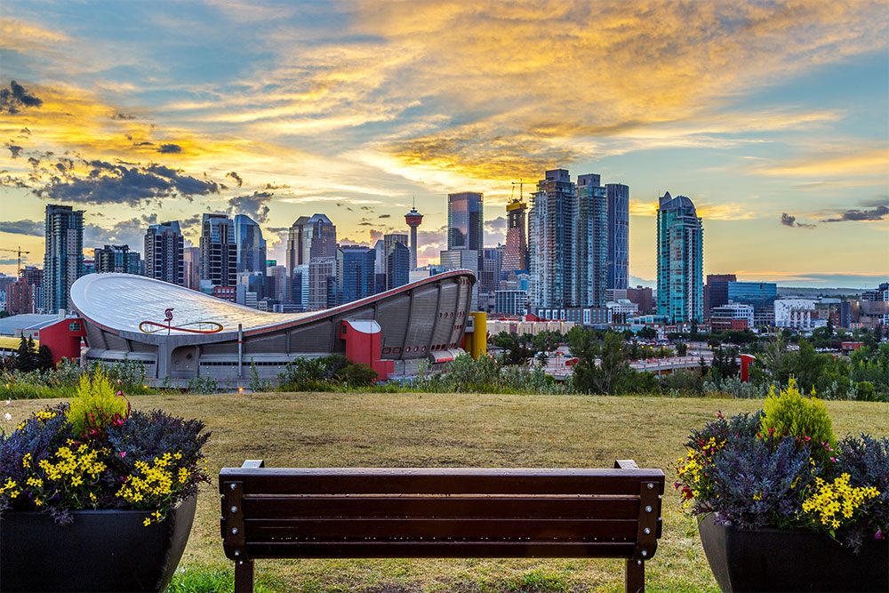 Downtown, Calgary, which made the list of top destinations of 2019