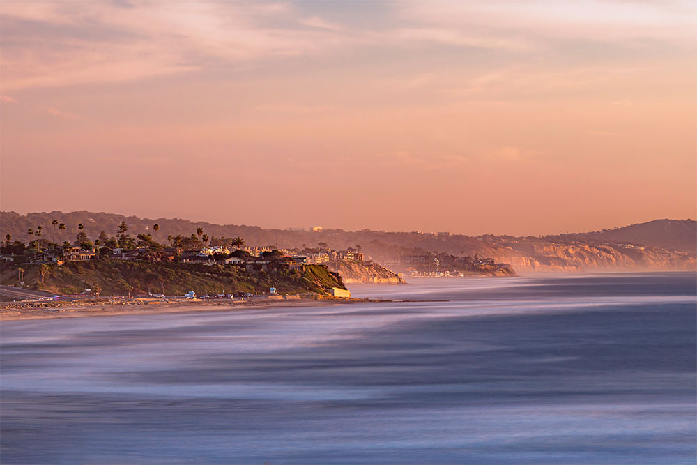 Solana Beach, California, one of best places to vacation in 2019