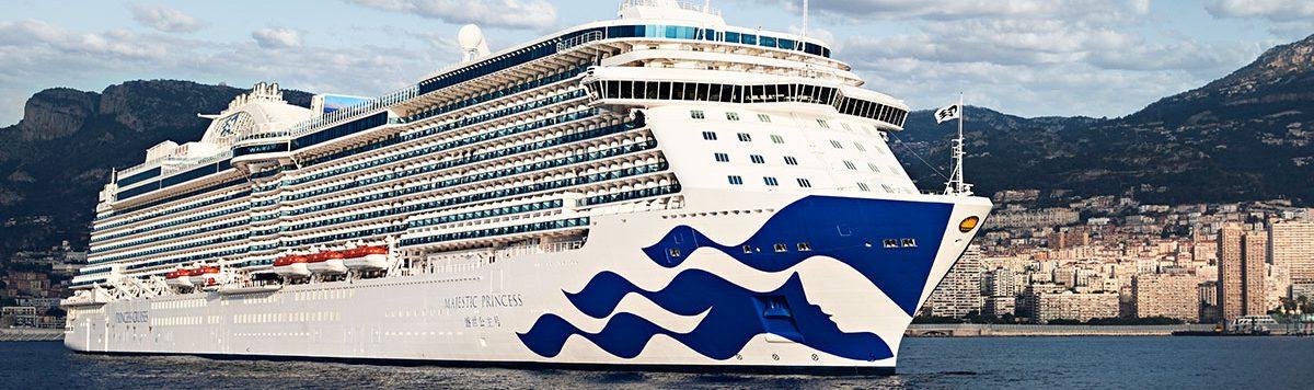 Cruising aboard a Princess Cruise ship