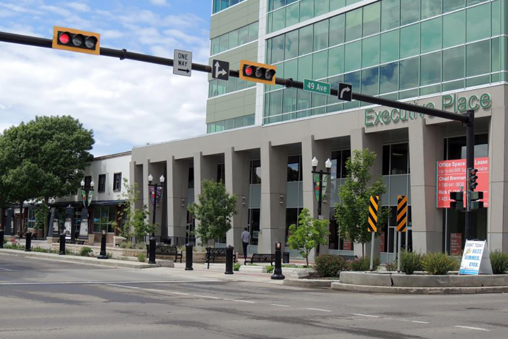 Downtown Red Deer, Alberta Executive Place