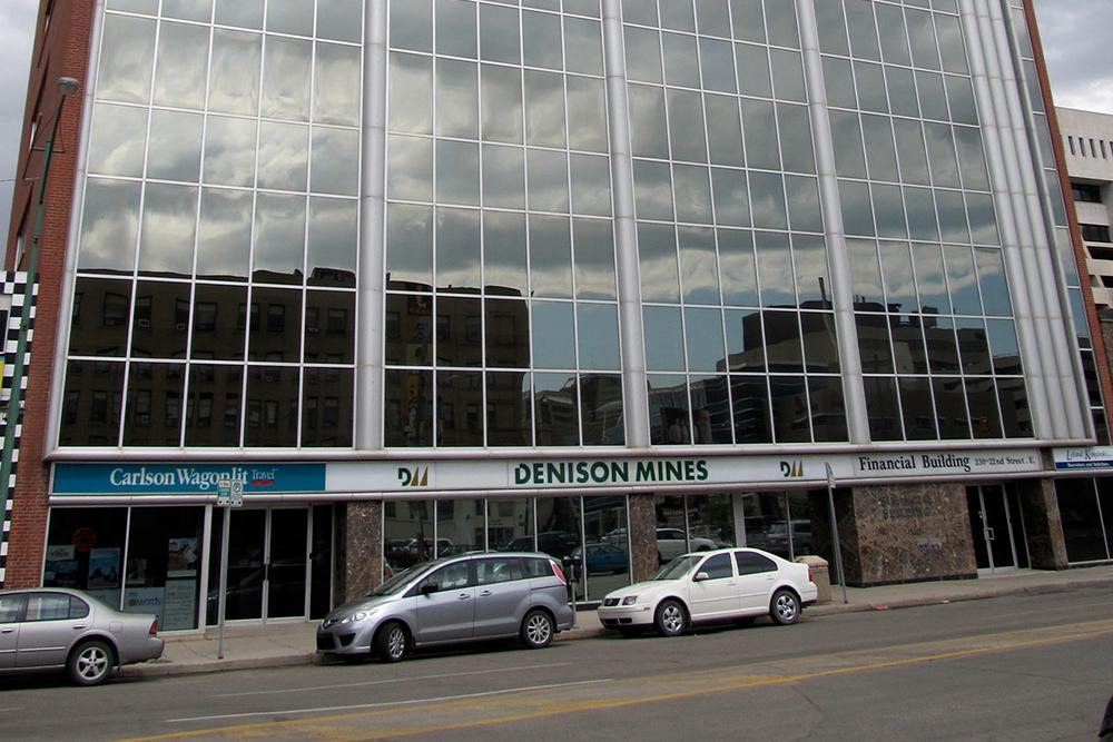 Downtown Saskatoon's Financial Building