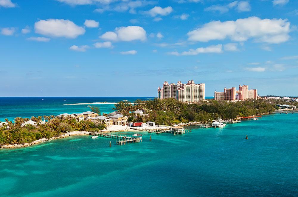 The Atlantis resort in Paradise Island