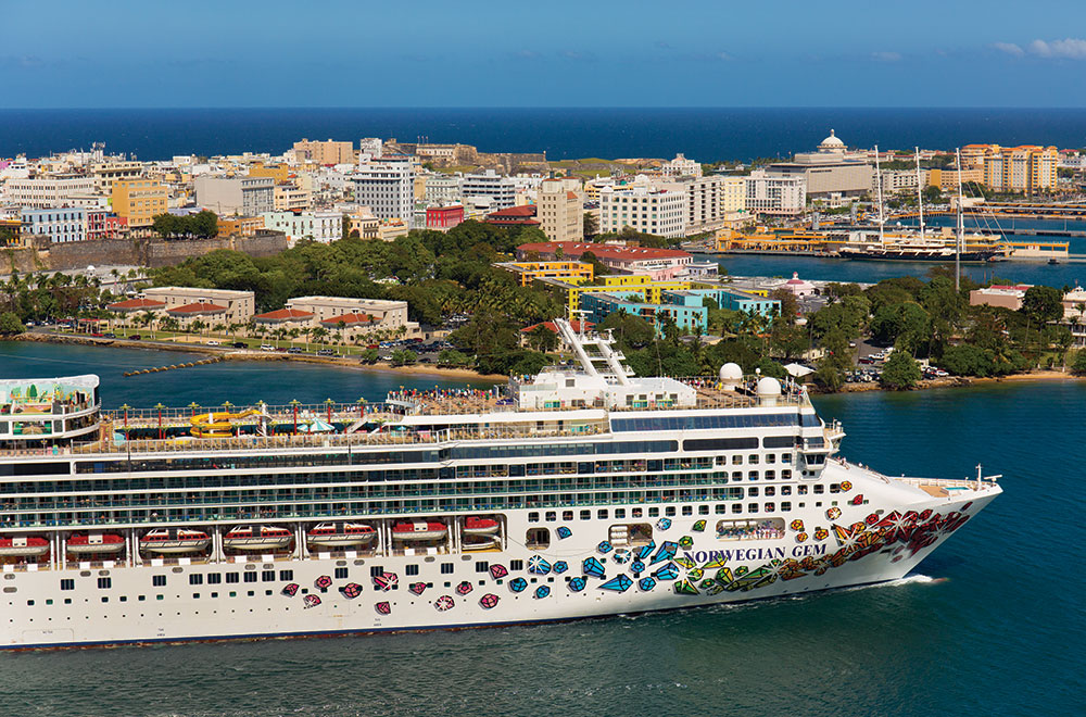 A Caribbean cruise in Puerto Rico