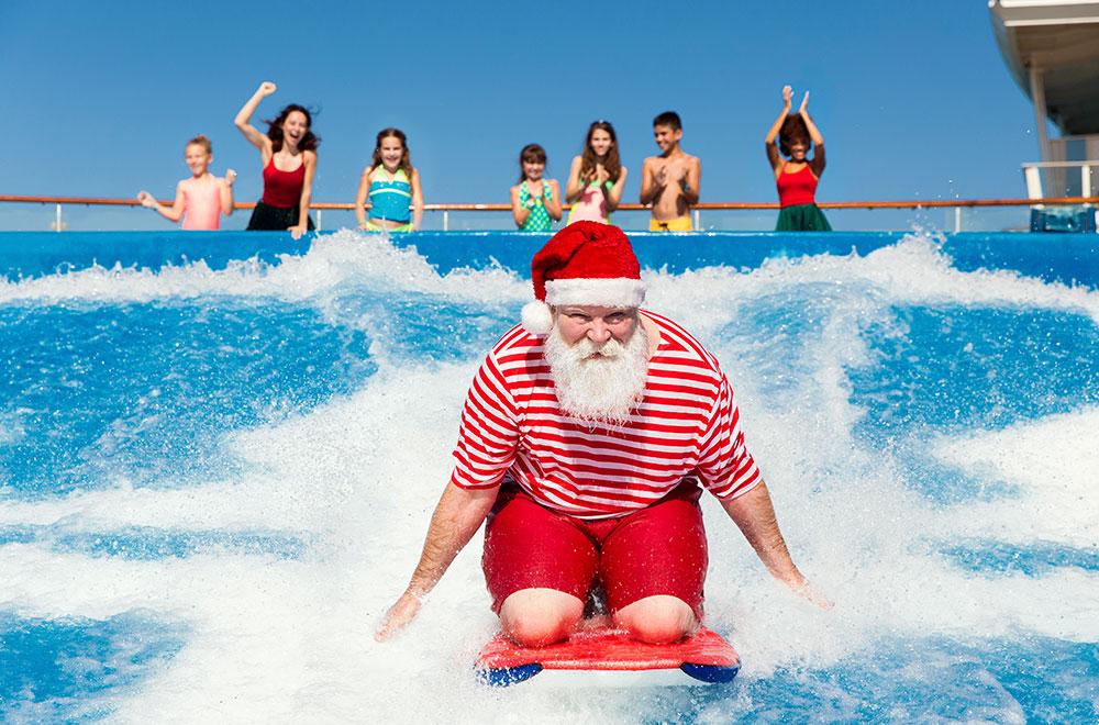 Christmas at Harmony of the Seas