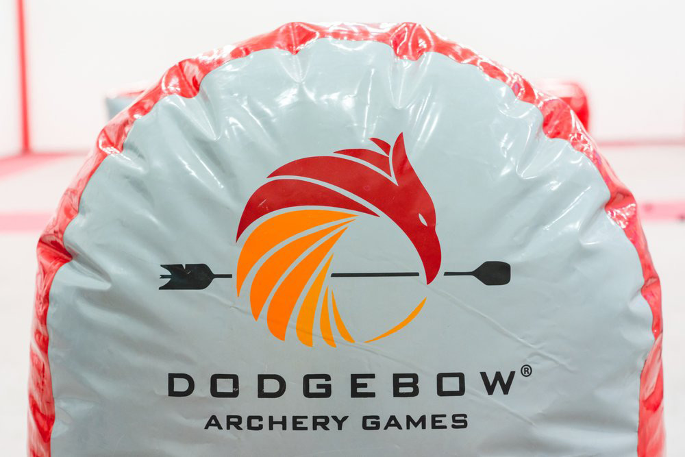 Logo of Dodgebow Archery Games, one of the best venues for a bachelor party in Montreal