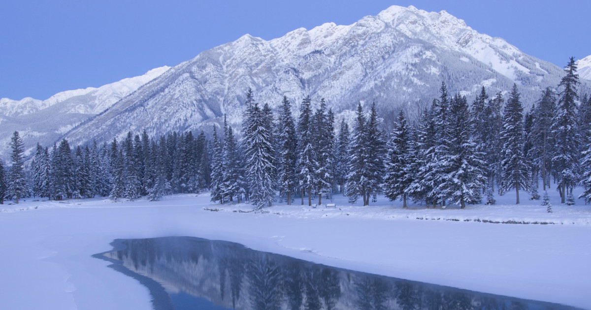 featured image banff winter