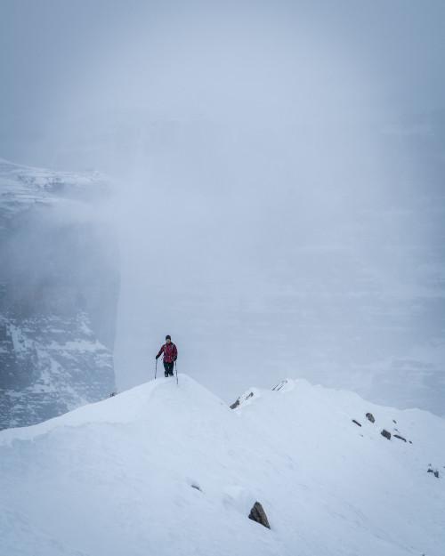 glaciers in banff