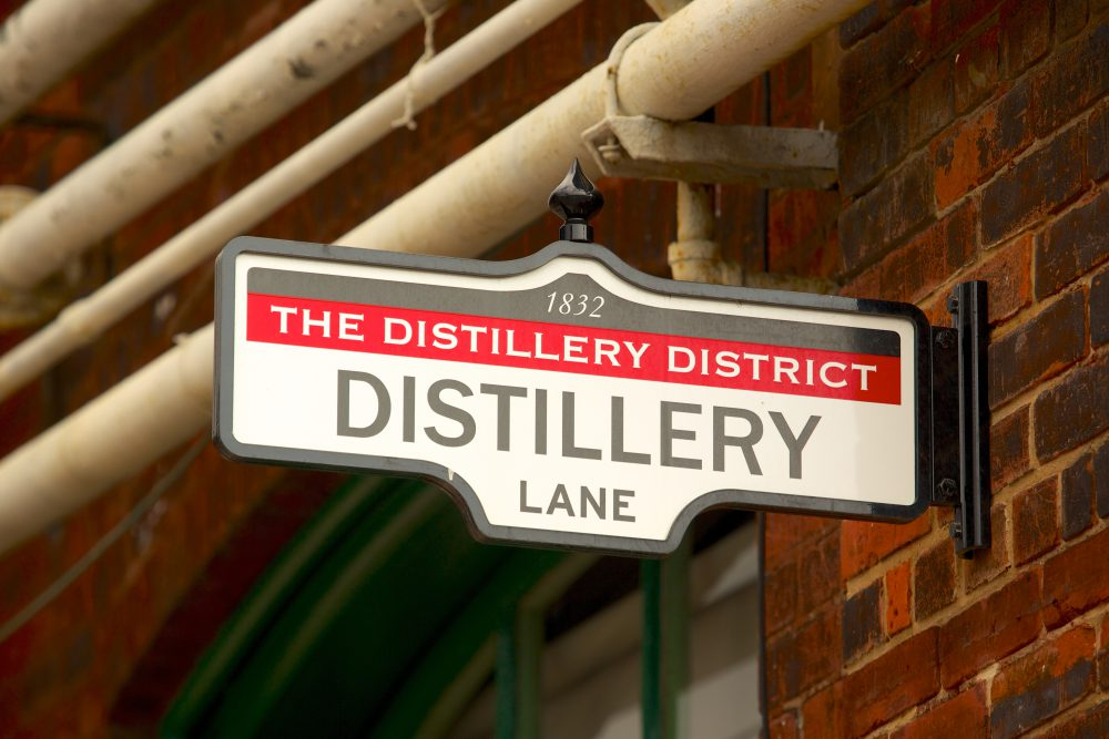 Toronto's The Distillery Historic District