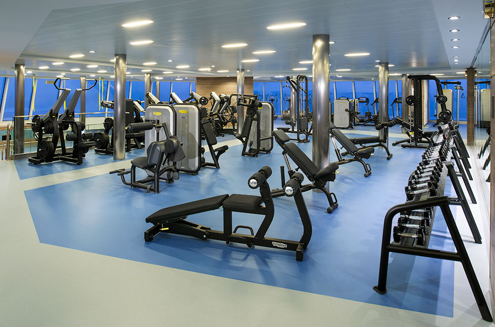 Wellness and fitness programs in your first cruise