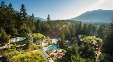 Best Outdoor Spas in Canada for Fall Leaf-Peeping