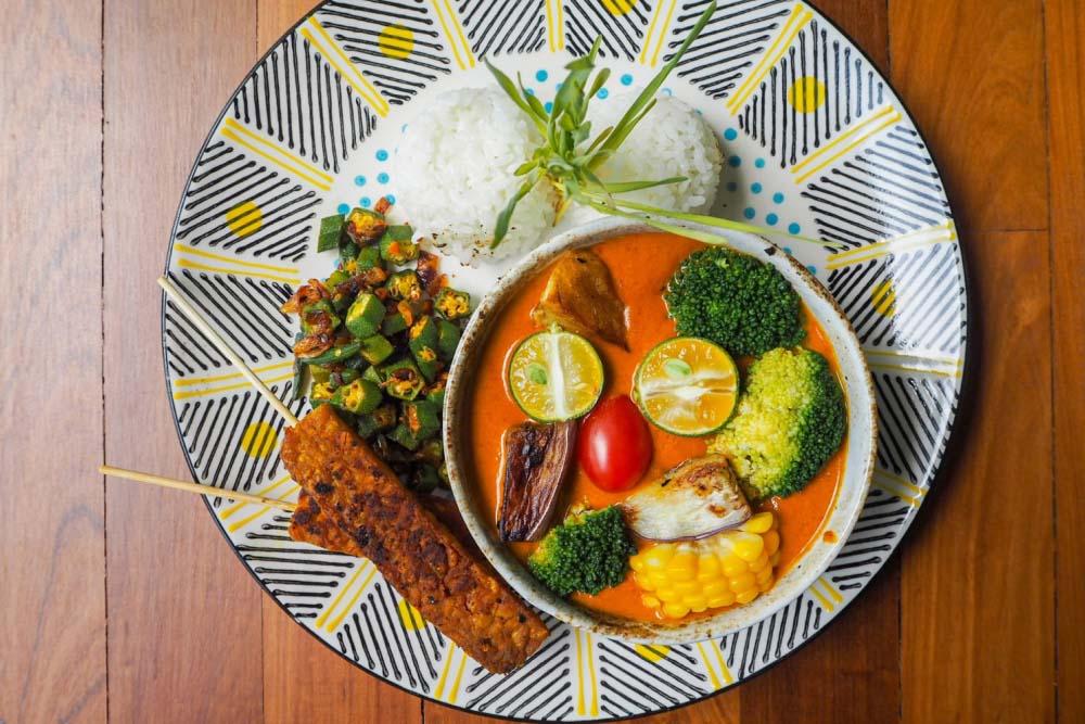 Potato curry from Kuala Lumpur, Malaysia