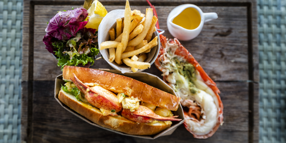 Lobster rolls at home