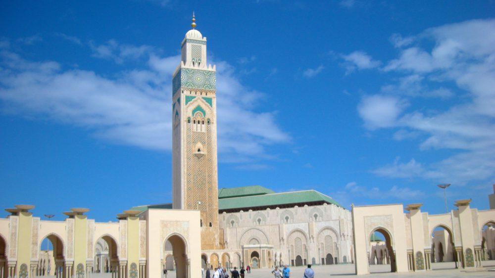 Exterior of Medersa Ben Youssef in Morocco
