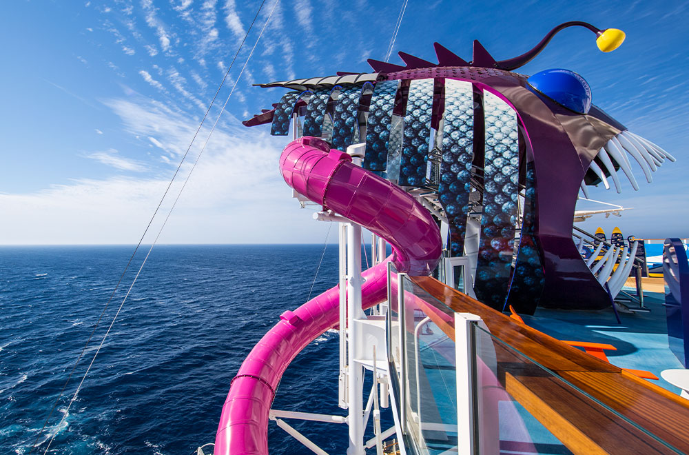 Royal Caribbean features the Ultimate Abbys, a fun-thrilling cruise activity