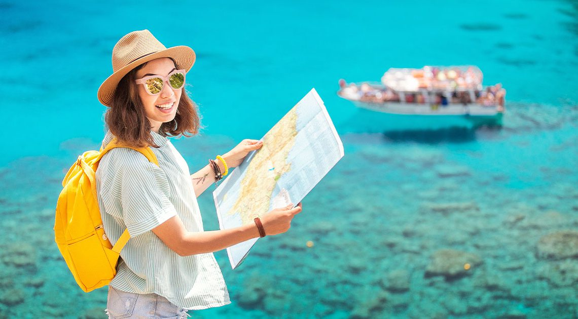 Girl-planning-cruise-shore-excursion
