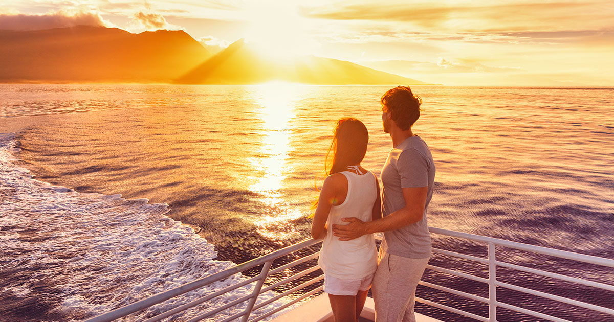 The best romantic cruise lines for Couples