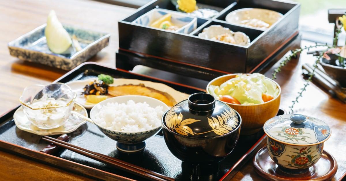 Traditional breakfast, Japan
