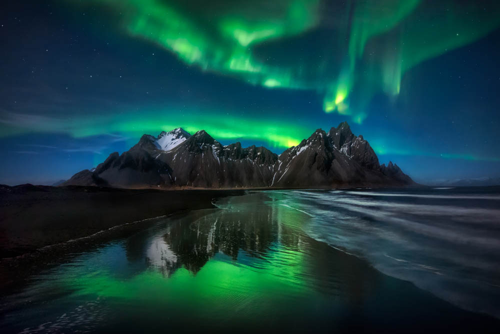 Experiencing the Northern Lights, Iceland