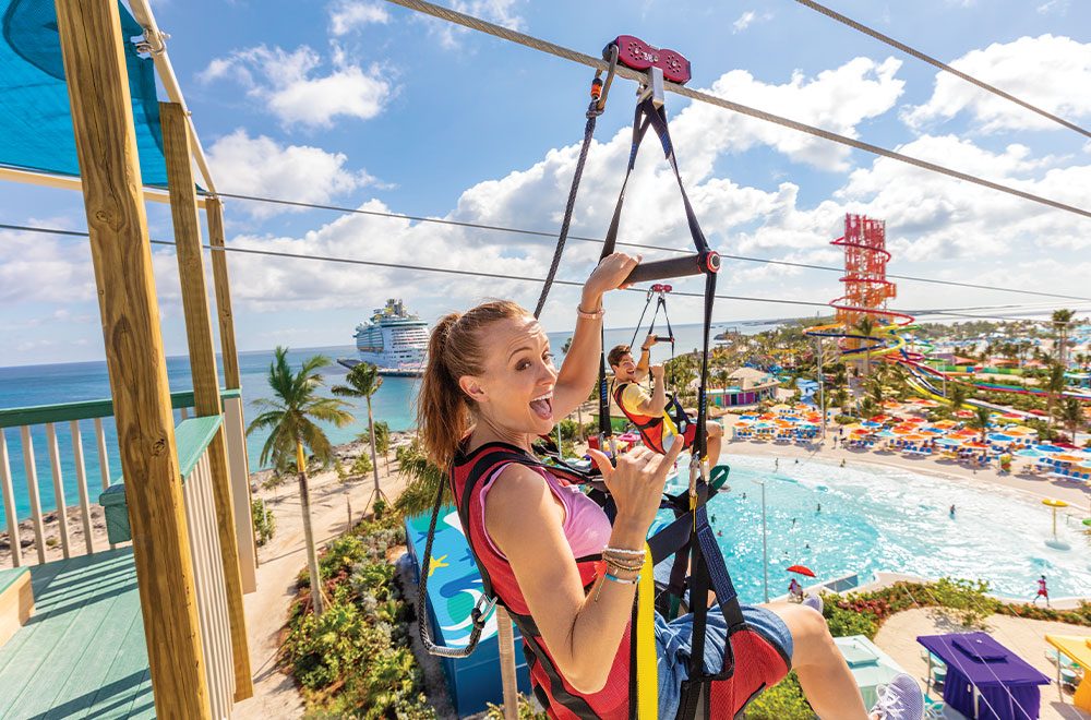 Endless cruise activities for couples at Royal Caribbean