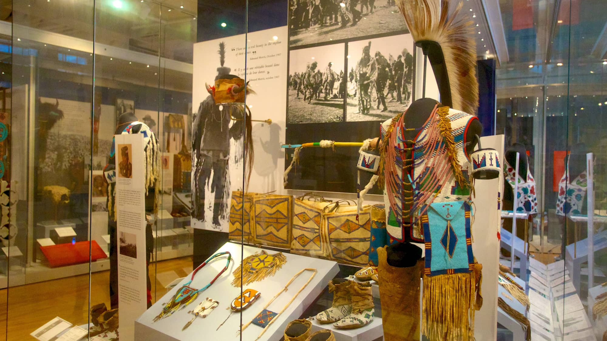 Artifacts at the Royal Ontario Museum in Canada