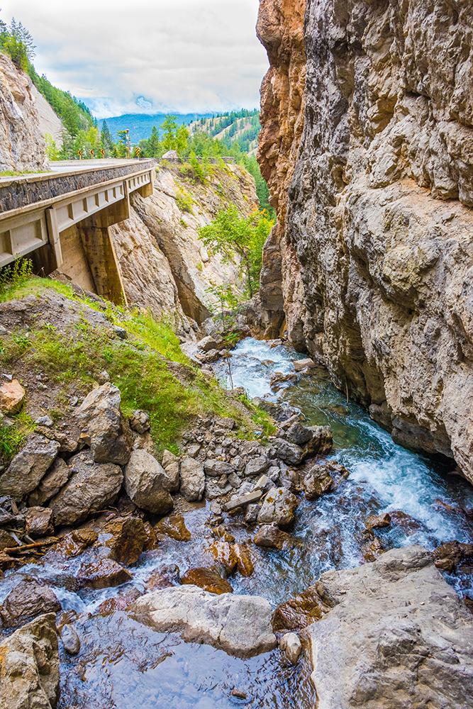 Sinclair Canyon Radium Hot Springs British Columbia