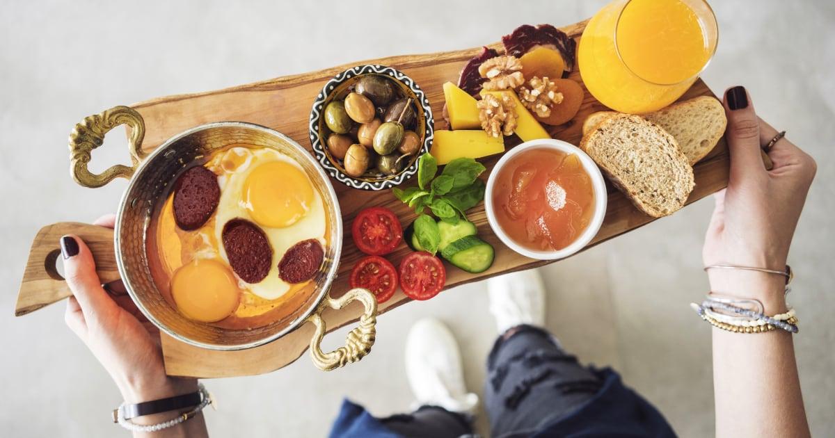 Traditional breakfast, Turkey