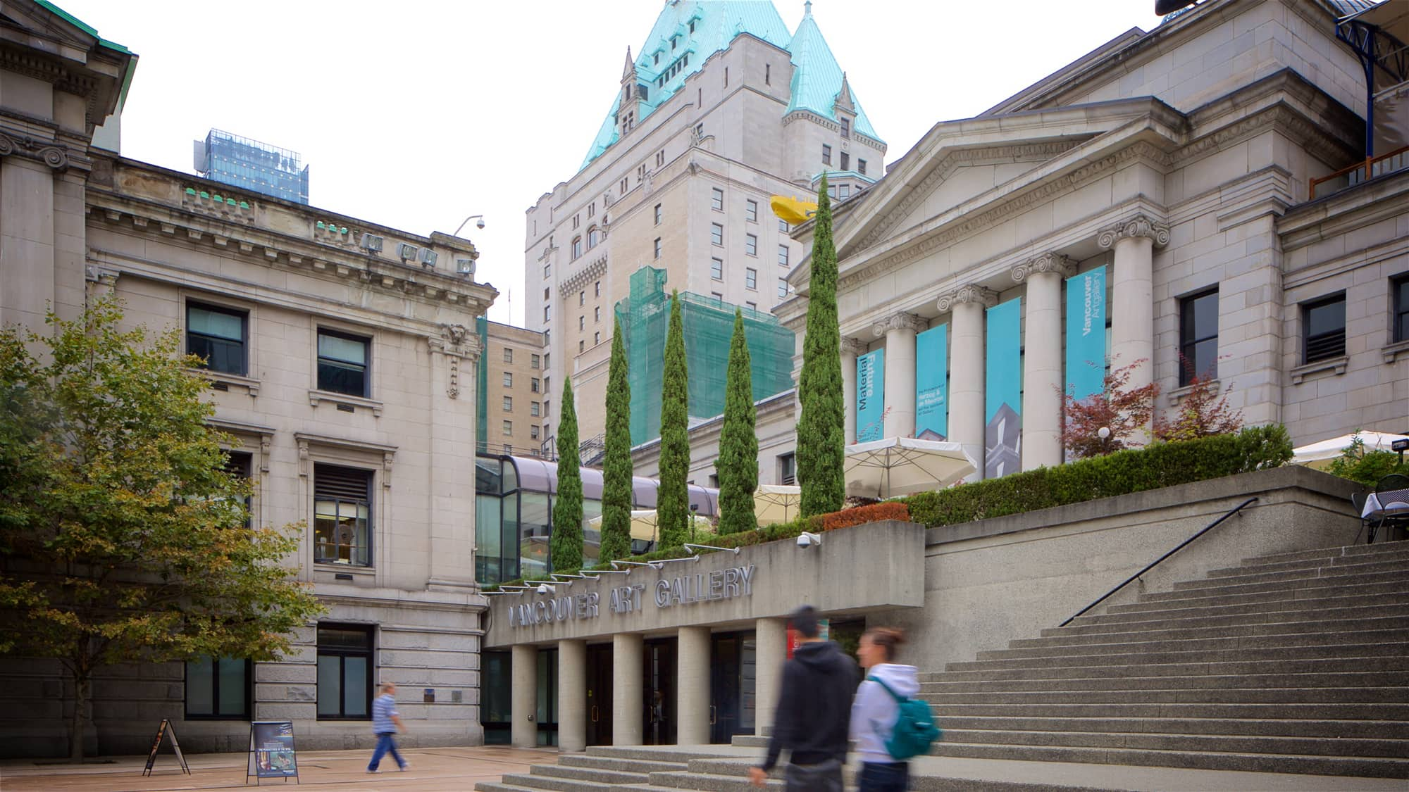 Vancouver Art Gallery is one of many Canadian museums with virtual tours