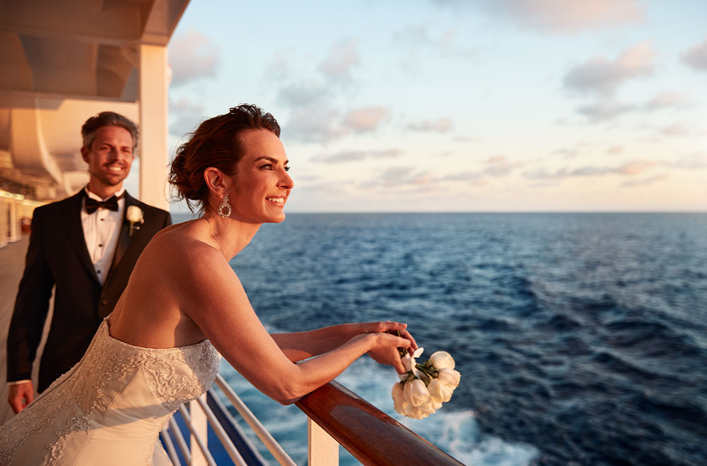 A perfect wedding aboard Princess Cruises