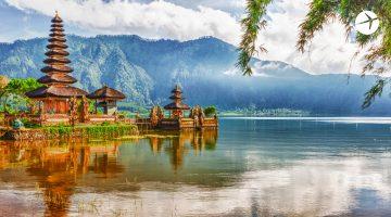Zoom meeting background Bali