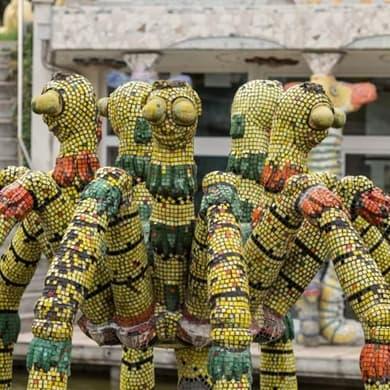 Swiss Bruno Weber Sculpture Park is being revived