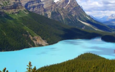 Western Canada's glaciers are quickly melting away
