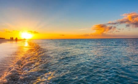 Turks and Caicos Islands changes time zone for later sunsets